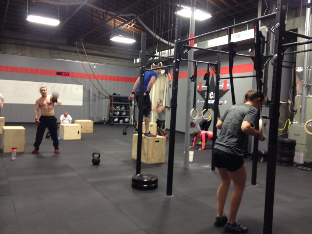 Workout – Thursday 01/18/2018