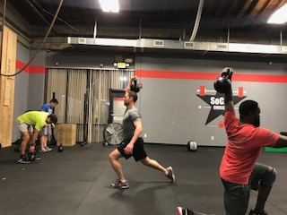 Workout – Friday 02/15/2018