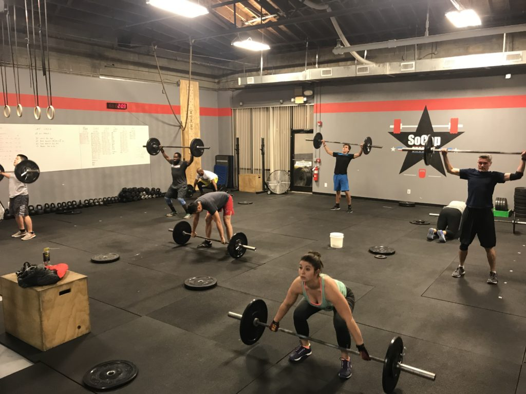 Workout – Wednesday 02/07/2018