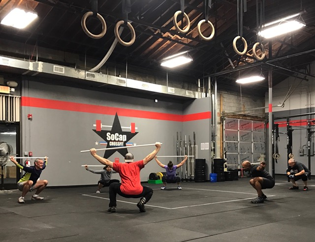 Workout – Tuesday 03/06/2018