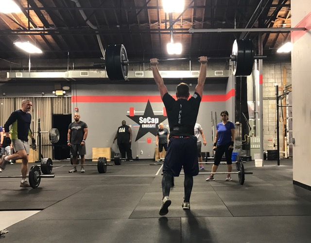 Workout – Monday 03/26/2018