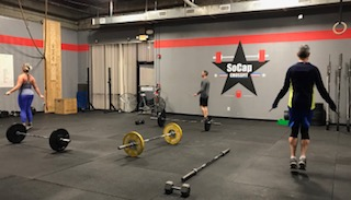 Workout – Thursday 03/15/2018