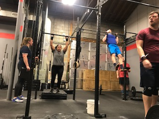 Workout – Thursday 03/29/2018