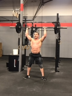 Workout – Tuesday 04/10/2018
