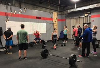 Workout – Wednesday 04/11/2018