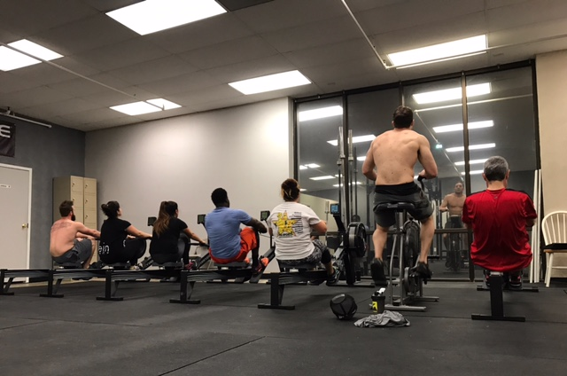 Workout – Friday 04/06/2018