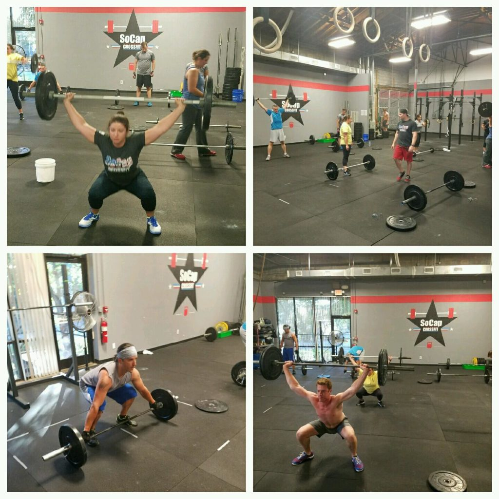 Workout – Wednesday 04/04/2018