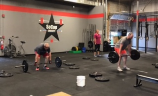 Workout – Tuesday 05/08/2018