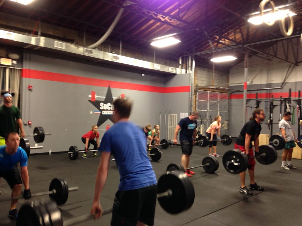 Workout – Thursday 05/17/2018