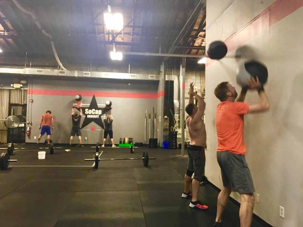 Workout – Tuesday 06/05/2018