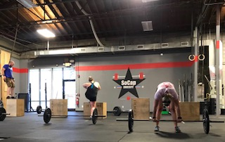 Workout – Monday 06/25/2018