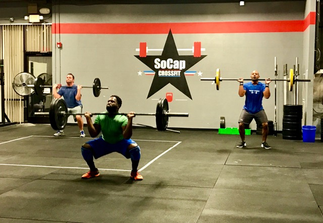 Workout – Friday 06/08/2018
