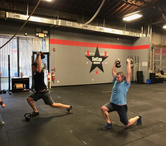 Workout – Friday 06/01/2018