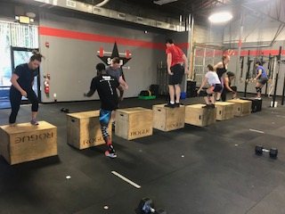 Workout – Wednesday 07/11/2018