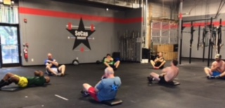 Workout – Friday 07/13/2018