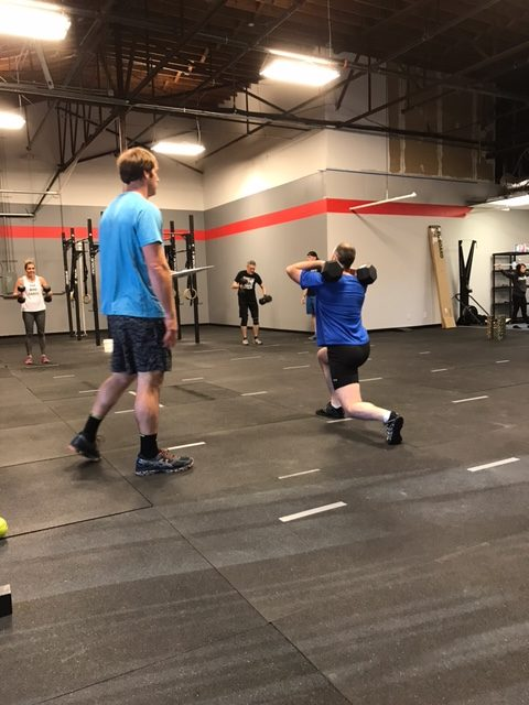 Workout – Monday 07/09/2018
