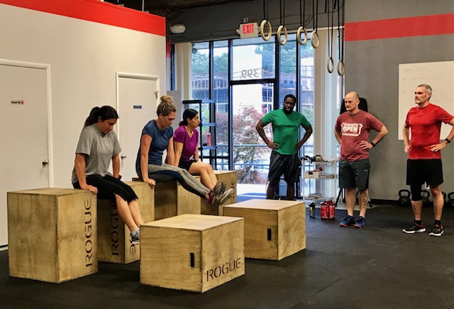 Workout – Monday 07/30/2018