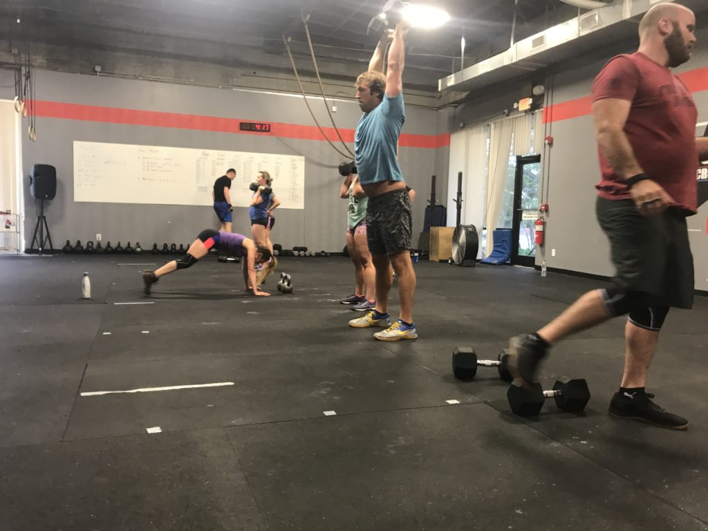Workout – Monday 07/02/18