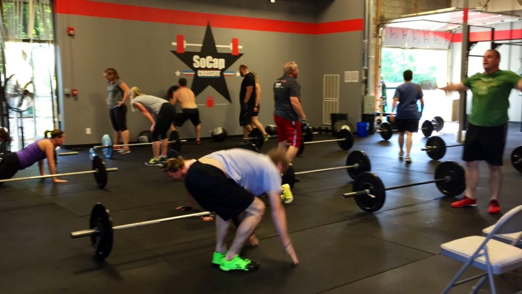 Workout – Tuesday 07/10/2018
