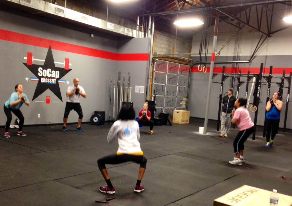Workout – Monday 07/23/2018