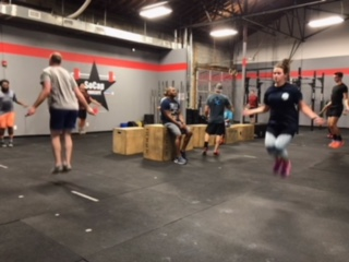 Workout – Tuesday 08/14/2018