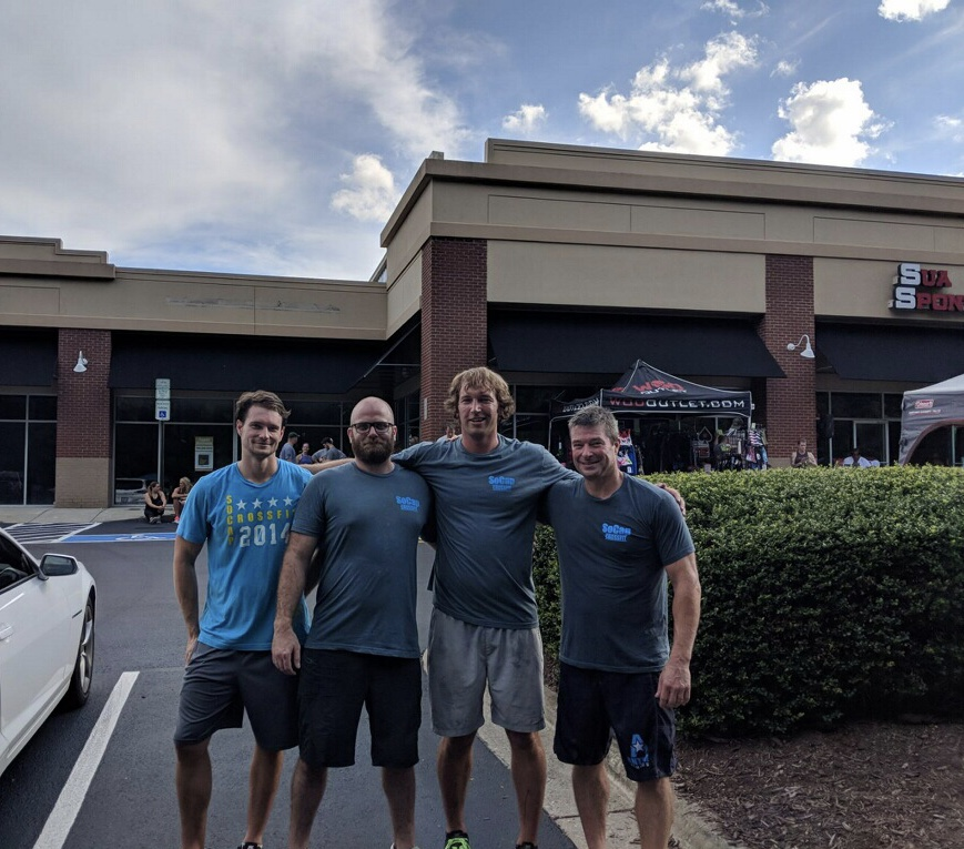 Workout – Monday 08/27/2018