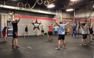Workout – Wednesday 09/05/2018