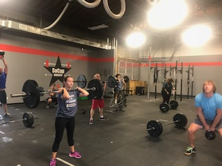 Workout – Monday 09/24/2018