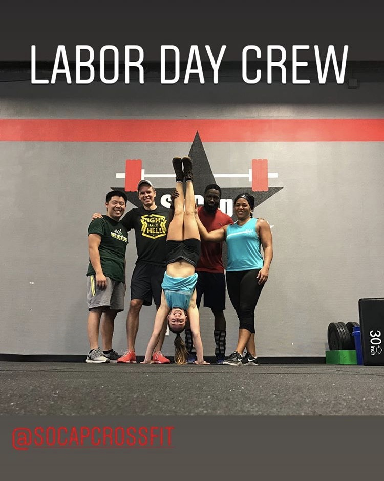 Workout – Tuesday 09/04/2018