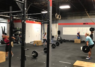 Workout – Monday 10/22/2018