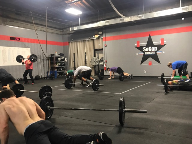 Workout – Thursday 11/01/2018