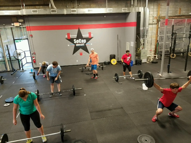 Workout – Friday 11/02/2018