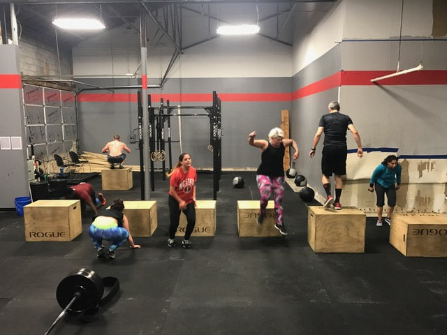 Workout – Monday 11/05/2018