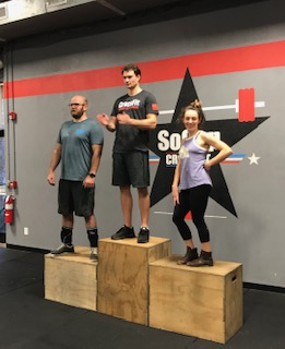 Workout – Wednesday 12/05/2018