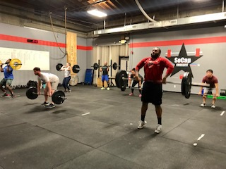 Workout – Friday 12/21/2018