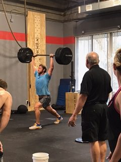 Workout – Friday 12/28/2018