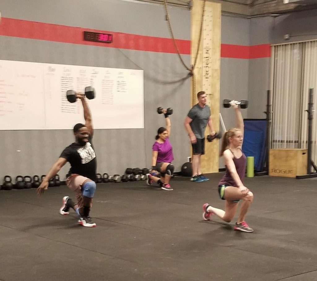 Workout – Thursday 12/13/2018
