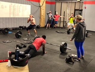 Workout – Friday 01/11/2019