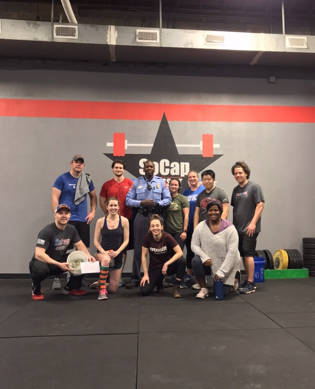Workout – Monday 01/21/2019