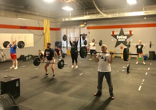 Workout – Tuesday 04/02/2019