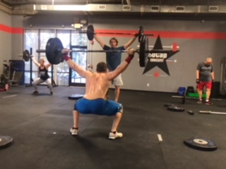 Workout – Friday 05/10/2019