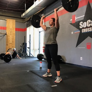 Workout – Monday 05/06/2019