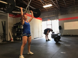 Workout – Tuesday 05/07/2019