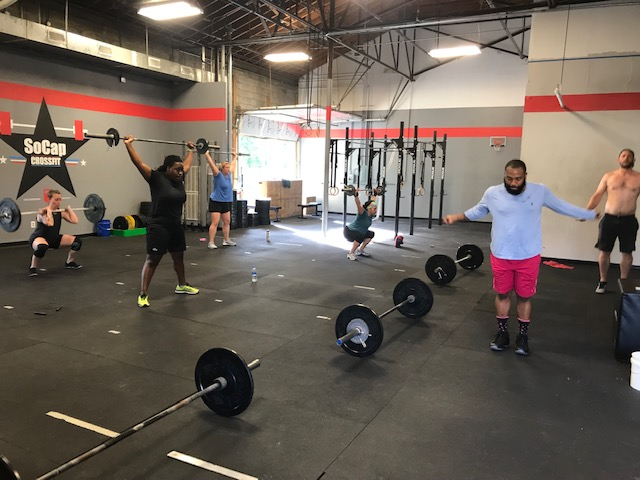 Workout – Thursday 05/09/2019