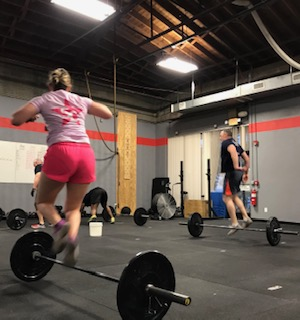 Workout – Monday 06/03/2019