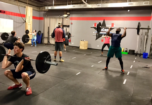 Workout – Wednesday 06/19/2019