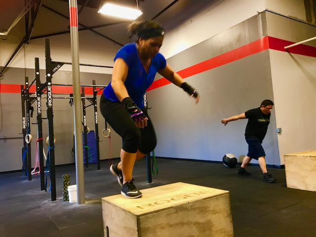 Workout – Monday 08/05/2019
