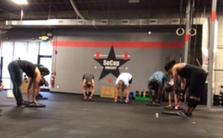Workout – Tuesday 10/01/2019